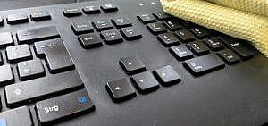 Tastatur reinigen