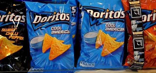 Chips Pepsi Dorito Lady Frauen