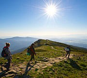 Gipfel in der Hohen Tetra (Polen)