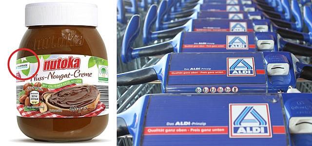 Aldi stellt einige Produkte auf Fairtrade um