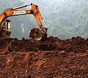 Bagger Land-Grabbing
