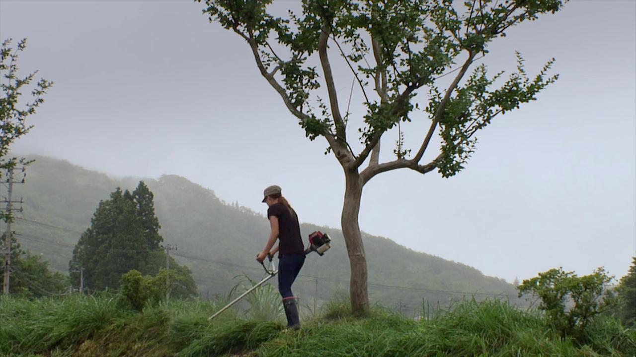 Eine Szene aus dem Film Furusato