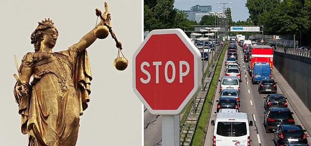 Gericht Urteil Fahrverbot Diesel