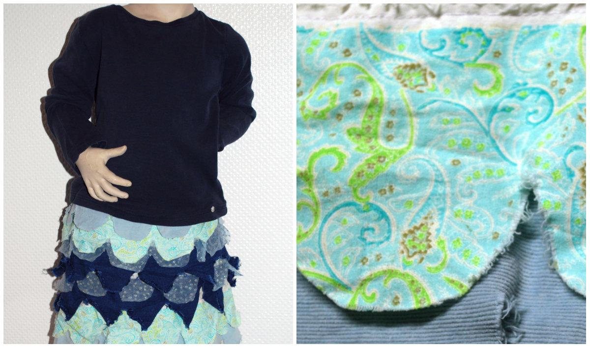 Kostüm für große Fische und süße Meerjungfrauen