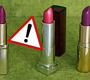 Lippenstift bei Öko-Test: L'Oréal, Manhatten, Maybelline, H&M ungenügend.