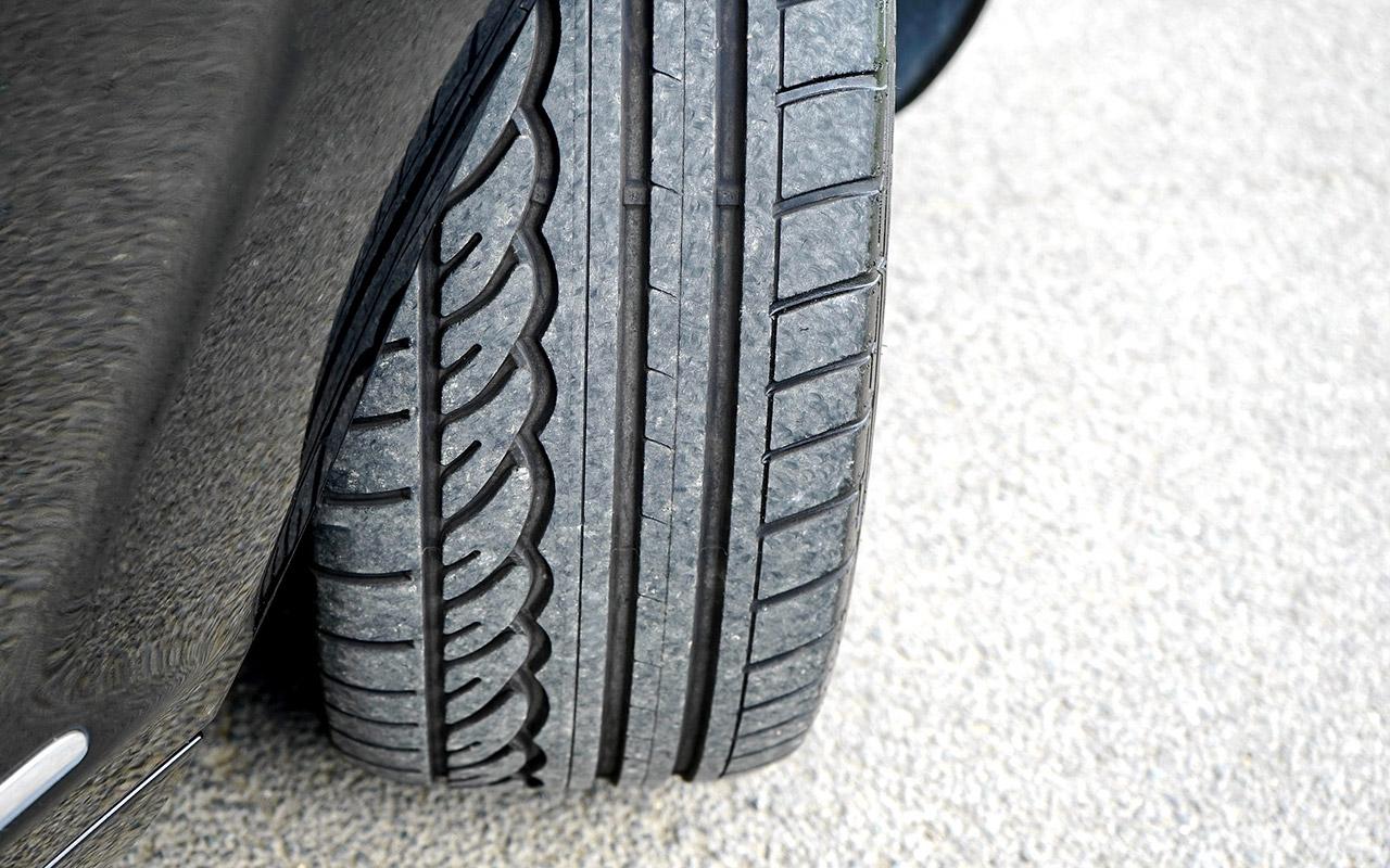 Verstecktes Mikroplastik: Reifen Abrieb