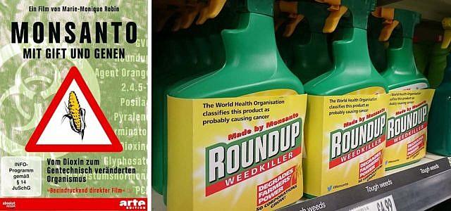 Monsanto mit Gift und Genen