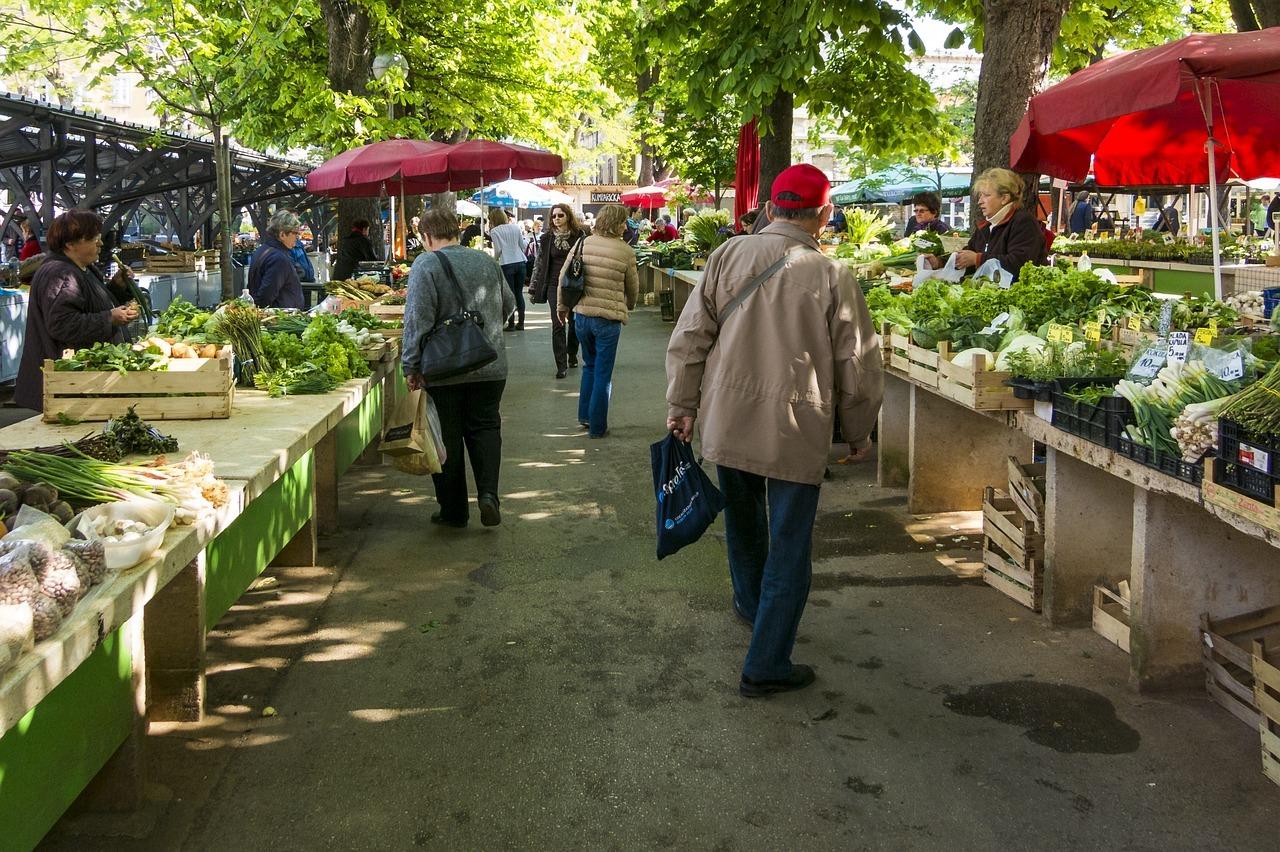 Wochenmarkt statt Nestlé-Fertigprodukte