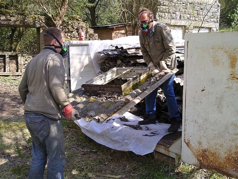 Asbest-Entsorgung Experten überlassen