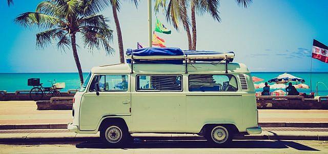 Camper, Urlaub, Reise