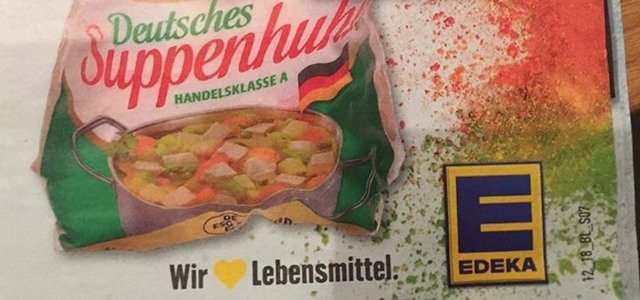 Edeka Fleisch Suppenhuhn Facebook