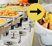 Lebensmittelverschwendung Catering