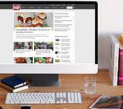 Schreibtisch, Computer, Bildschirm