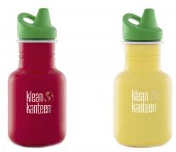 Trinkflaschen für Kinder von Klean Kanteen kannst du einfach dem Alter deines Kindes anpassen.