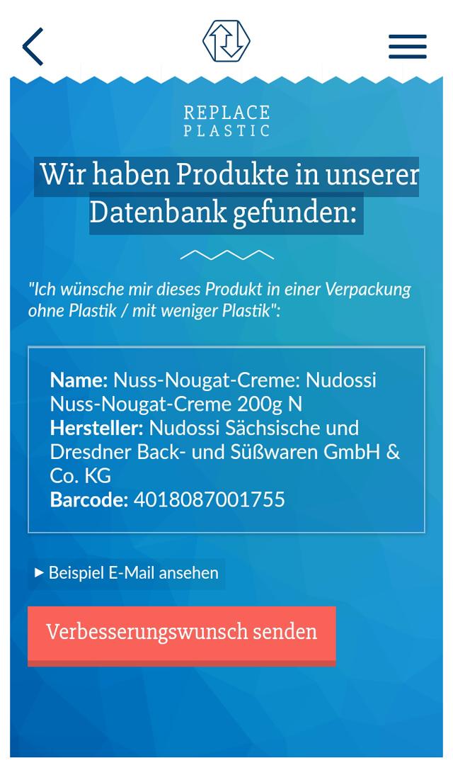 App: Replace Plastic