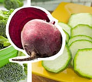 Gemüse roh essen