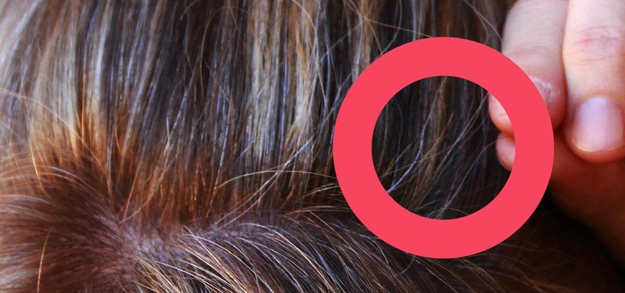 Strähnen bei ersten grauen haaren