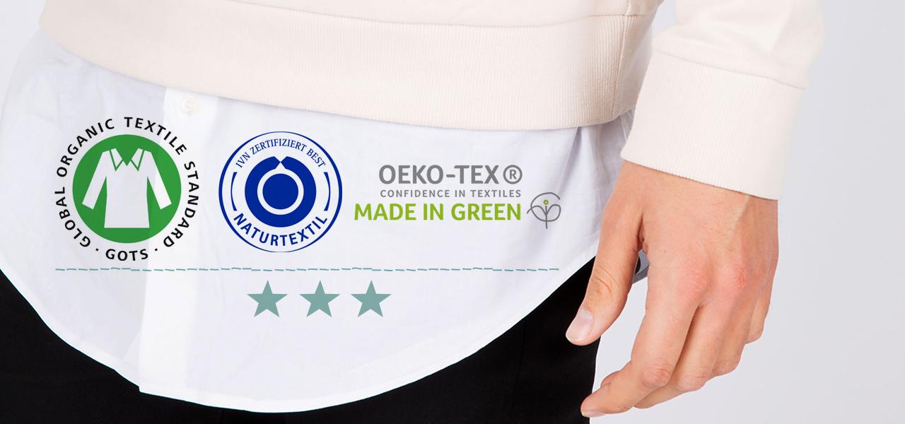Die wichtigsten Siegel für Kleidung ohne Gift  bluesign, GOTS, Öko-Tex   Co. b7215219a2
