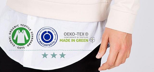 Textilsiegel für Kleidung ohne Gift