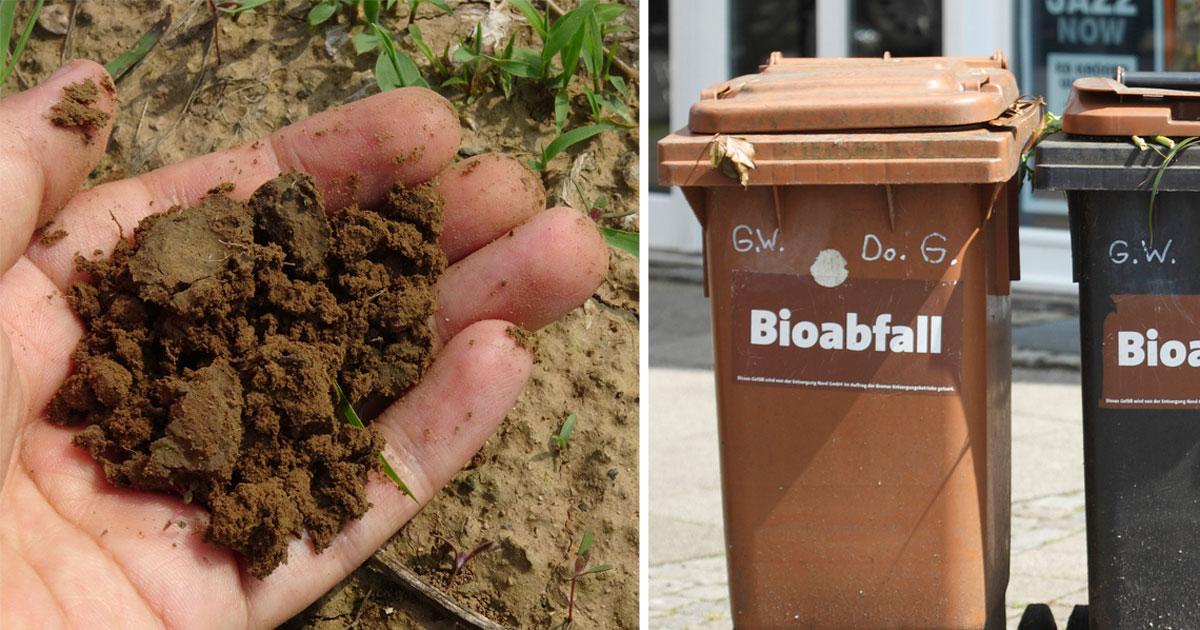 komposterde ist voller mikroplastik schuld ist die biotonne. Black Bedroom Furniture Sets. Home Design Ideas