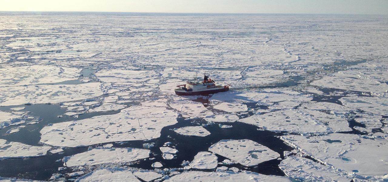 Arktis, Mikroplastik, Eis, Plastik