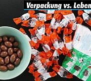 Verpackungsmüll-Fotos: Schokobons