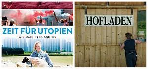 Dokumentarfilm Zeit für Utopien, Hofladen der Haases in Bayern