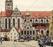 Augsburg Luftverschmutzung öffentlicher Verkehr