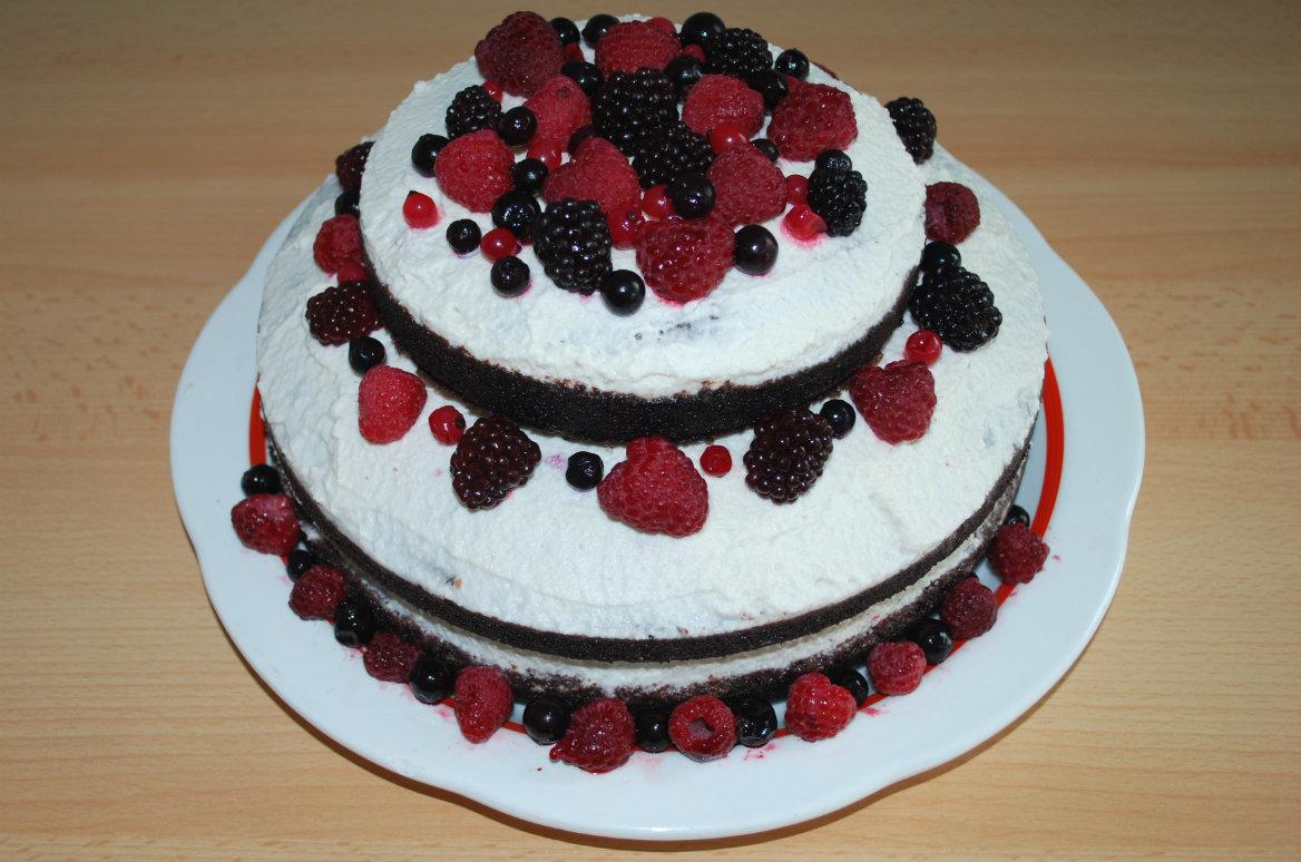 Naked Cake Weniger Ist Mehr Rezept Utopia De