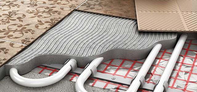 Fußbodenheizung einstellen