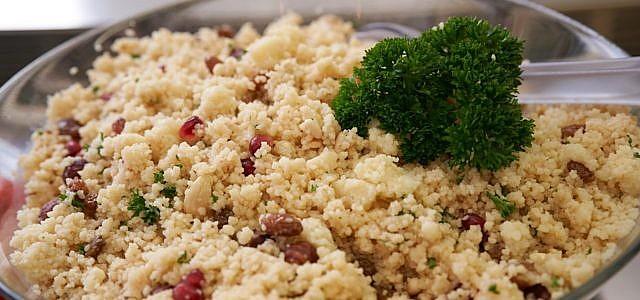 Hirsesalat ist sehr vielseitig und lecker.