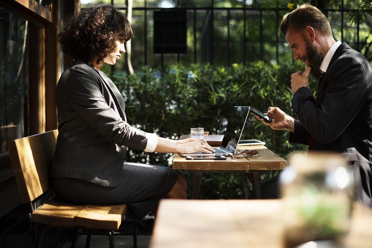 Jobsharing wird auch von größeren Unternehmen angeboten.