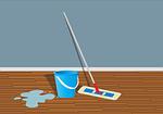 Linoleum zählst zu den pflegeleichtesten Bodenbelägen.