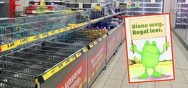 Leere supermarktregale bei penny das passiert wenn die for Pflanzen laden berlin