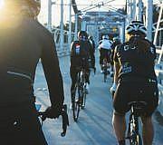 Stadtradtour zu hunderten