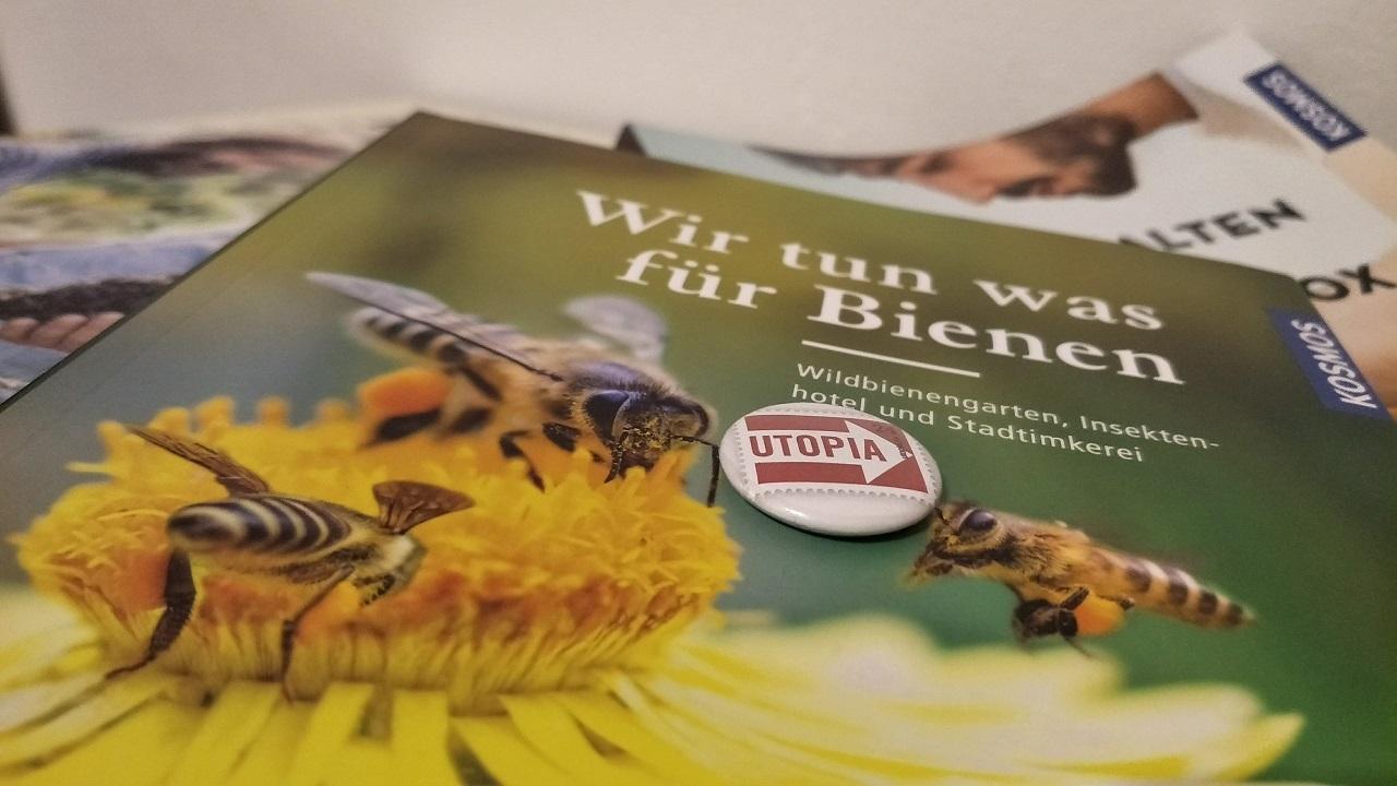 Das Bienen-Buch kann Bienen-Freunden einiges beibringen.