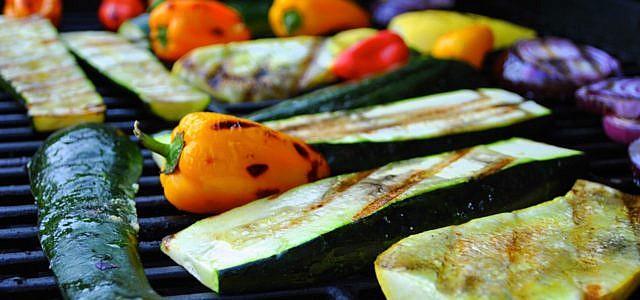 Kugelgrill Test Gemüse grillen