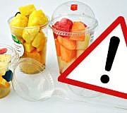Obst to Go Keime Salat gefährlich Gesundheit