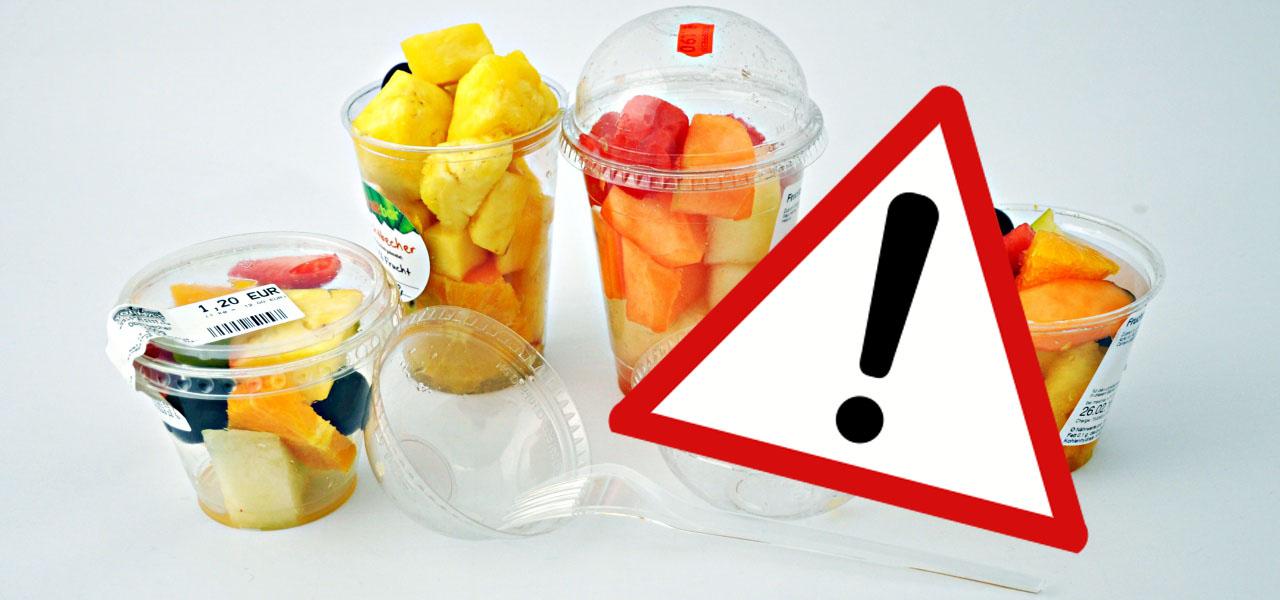 Gesundheitsrisiko: Darum solltest du kein geschnittenes Obst und Gemüse kaufen