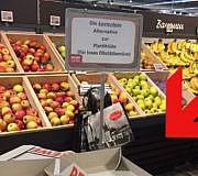 Rewe Plastiktüte Obst Gemüse