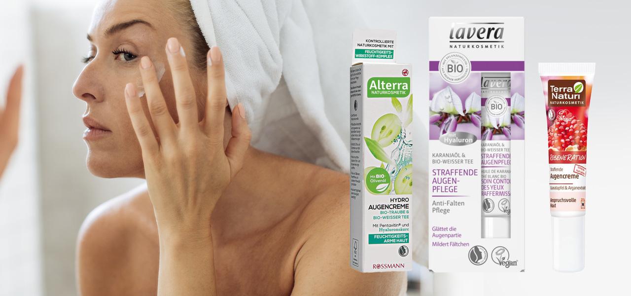 """Augencremes im Test: diese Produkte findet Öko-Test """"gut"""""""
