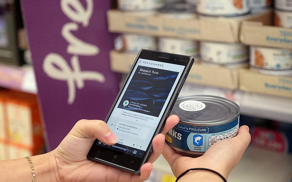 Beim Blockchain-Projekt Provenance kann der Kunde am Ende die Lieferkette des Produktes verfolgen