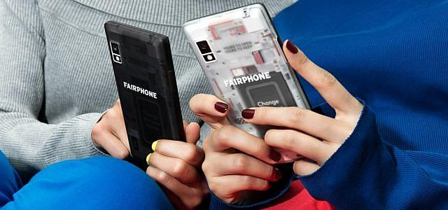 Fairphone 2 Smartphone transparentes Backcover
