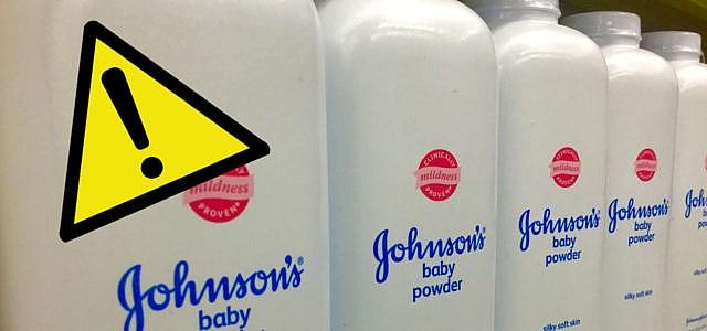 Babypuder Johnson Johnson