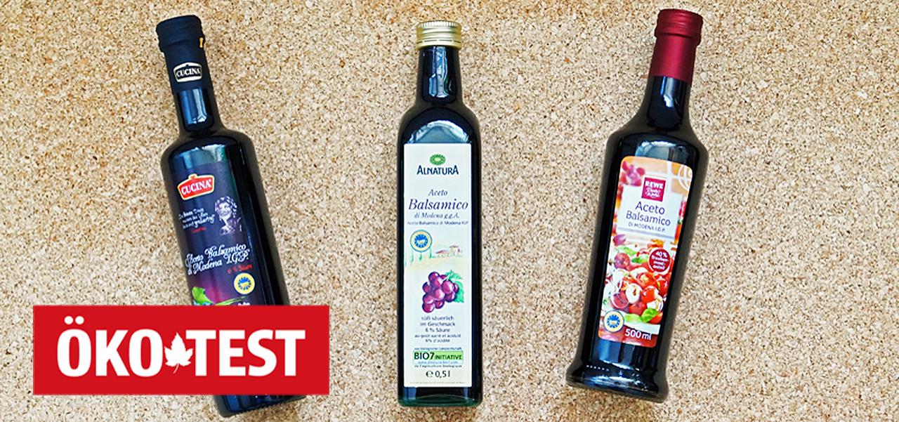 Öko-Test Aceto Balsamico: Nur 8 von 17 Marken sind empfehlenswert - Utopia.de