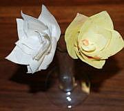 papierblumen basteln