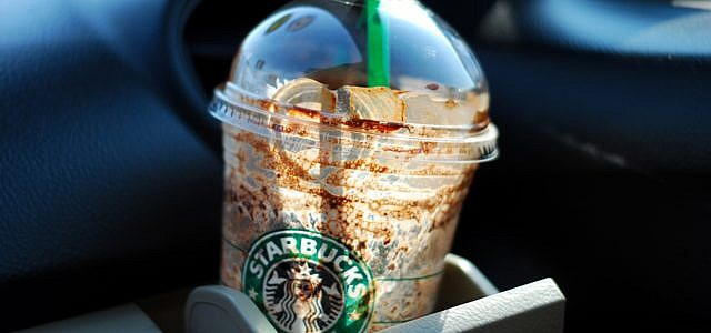 Starbucks Plastik Strohhalme