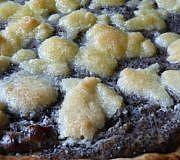 Streuselkuchen mit Mohn