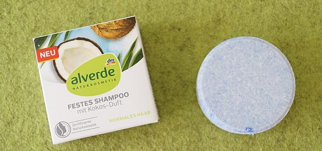 alverde feste shampoo