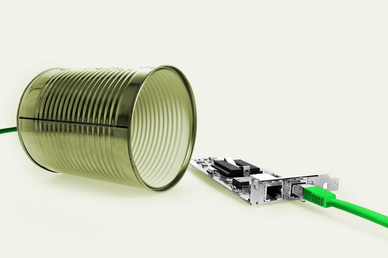 Das Dosentelefon braucht natürlich keinen Telefonanschluss.